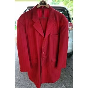 Other - Men's red zoot suit